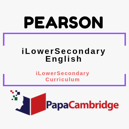 Pearson Edexcel iLowerSecondary English (2018) iLowerSecondary Curriculum Ebooks