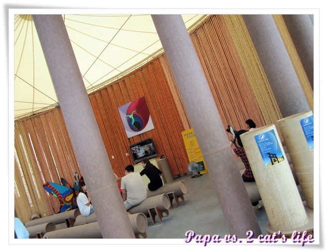 貓的旅行 埔里紙教堂