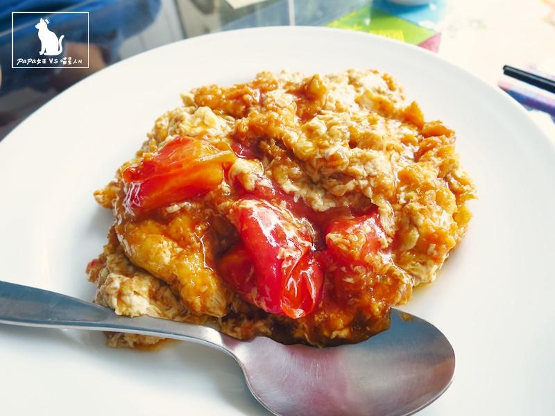 台中|素食 起若雅蔬食餐廳 住宅區內的庭園小館! 蕃茄炒蛋不是蛋?