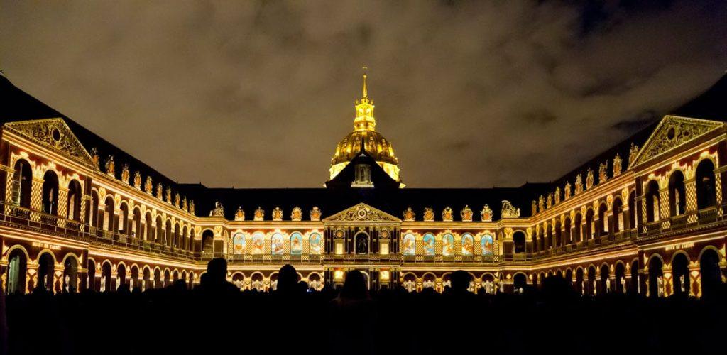 La Nuit Aux Invalides Un Spectacle De Projections 3D Sur