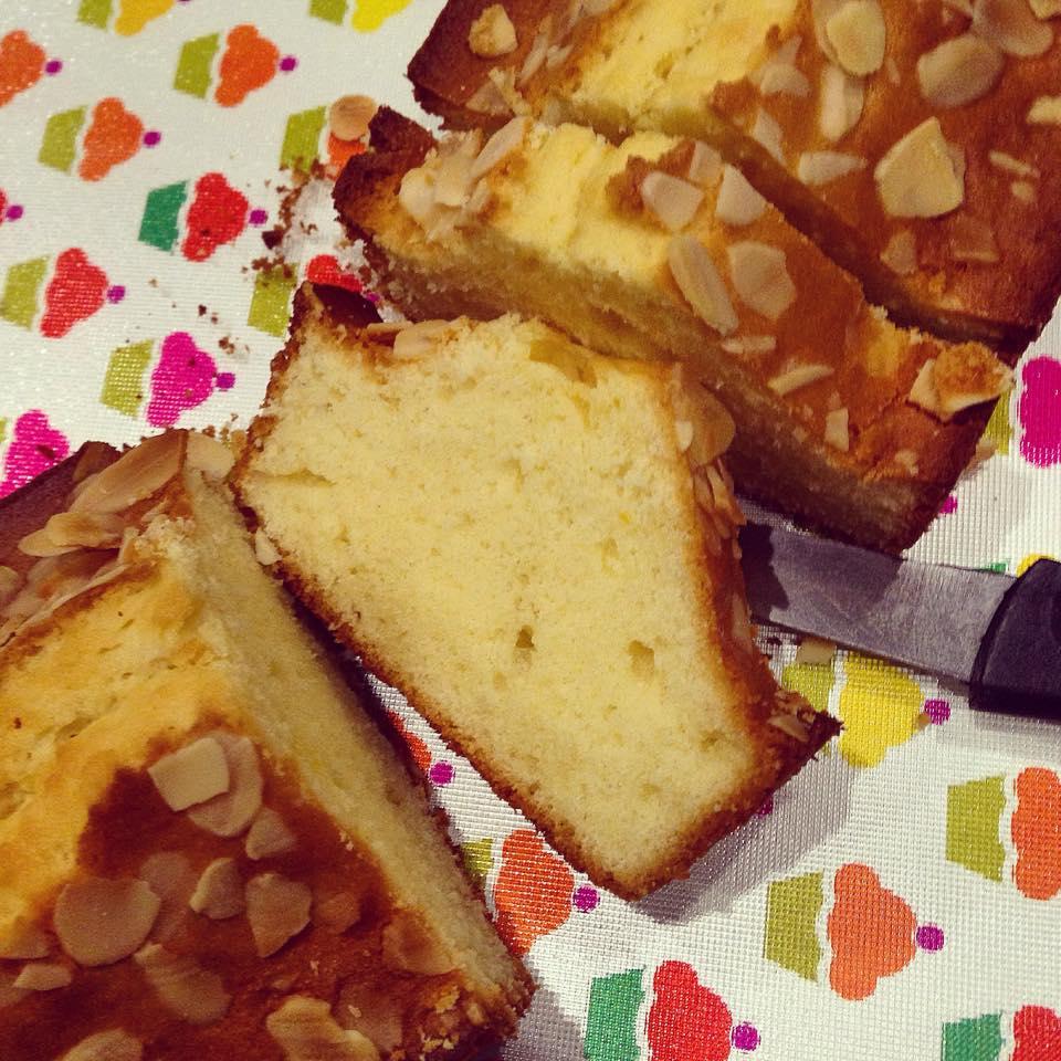 Gâteau yaourt aux amandes