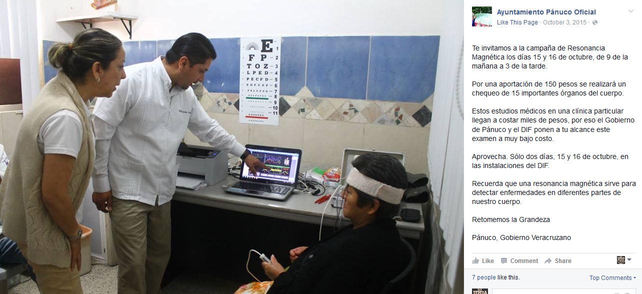 examen de resonancia magnética