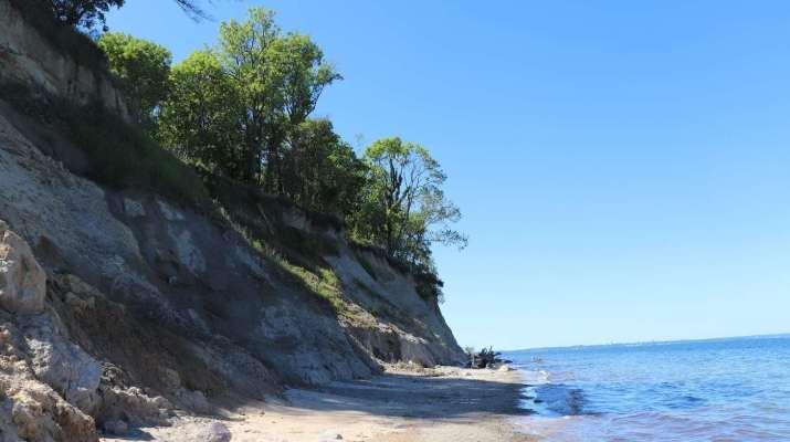 Steilküste am Brodtener Ufer