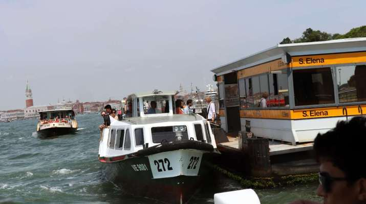 Vaporetti in Venedig