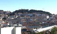 Blick auf die Burg Sao Jorge