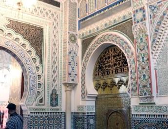 Mausoleum von Moulay Idriss II. in Fes