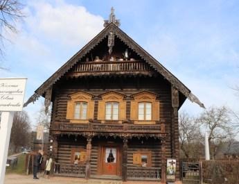 Russisches Restaurant in Kolonie Alexandrowka