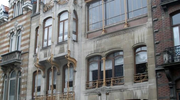 Das Wohn- und Atelierhaus von Victor Horta in Brüssel