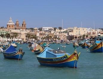 Fischerhafen von Marsaxlokk