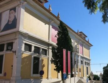 Das Nationalmuseum für alte Kunst in Lissabon