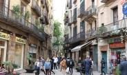 Das Gotische Viertel in Barcelona