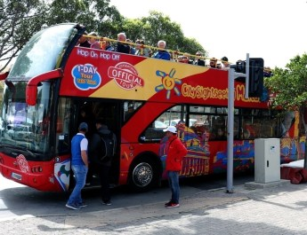 Hop-on-Hop-off-Bus in Valleta