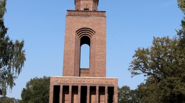 Bismarckturm auf dem Schlossberg bei Burg im Spreewald