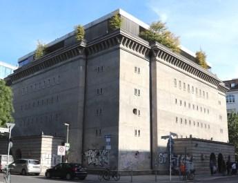 Der Bunker in der Reinhardtstraße beherbergt zeitgenössische Kunst