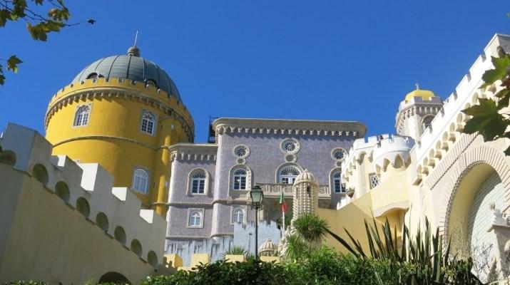 Das imposante Märchenschloss in Sintra