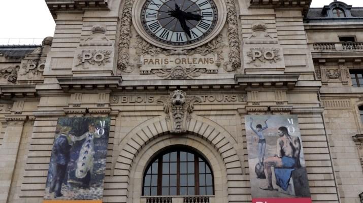 Das Museum d´Orsay befindet sich im Bahnhof, der einstigen Paris mit Orleans verband