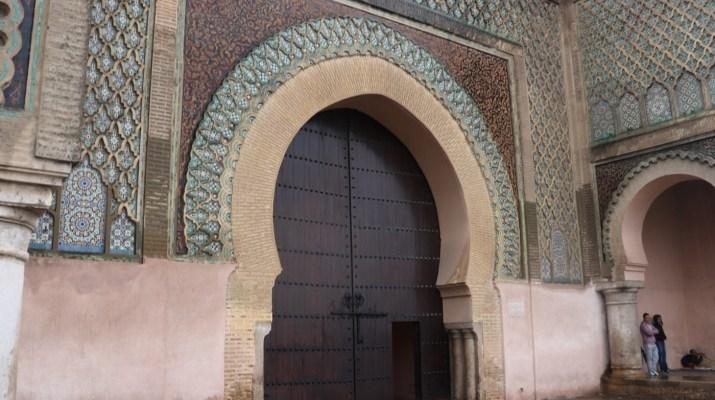 Bab el Mansour in Meknes