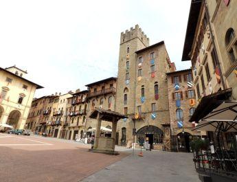 Piazza Grande in Arezzo