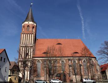Der Turm der Stadtkirche bietet eine tolle Aussicht auf Calau