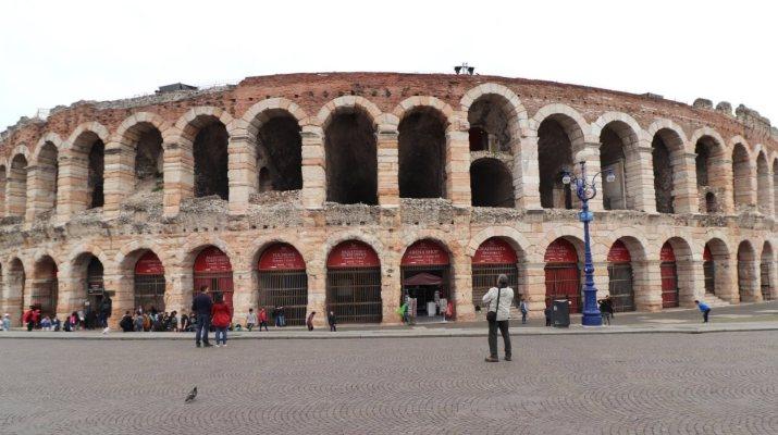 Die berühmte Arena di Verona