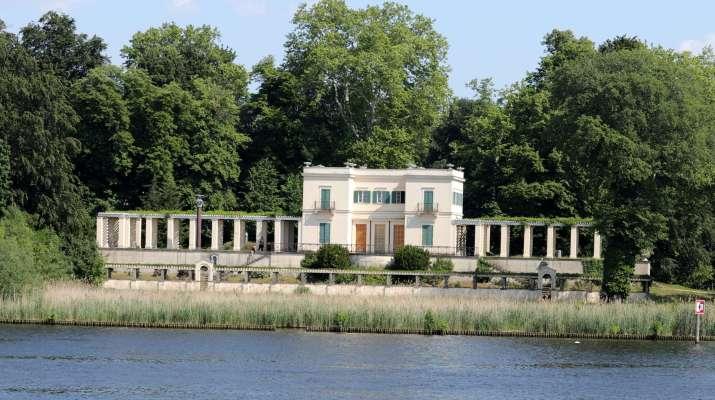 Das Casino im Park von Schloss Glienicke