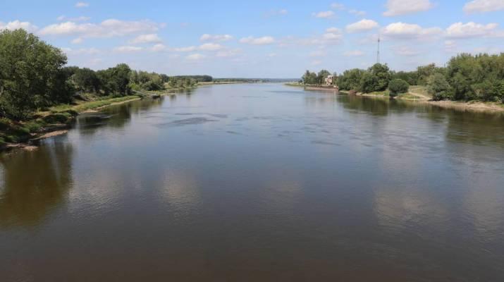 Die Oder bildet die Grenze zwischen Deutschland und Polen
