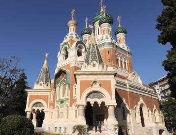Die russische Kathedrale in Nizza