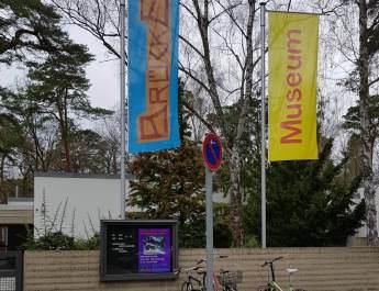 Eingang zum Brücke-Museum in Berlin