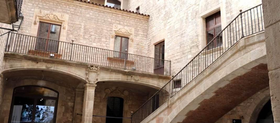In diesem alten Palast ist das Picasso-Museum zu finden