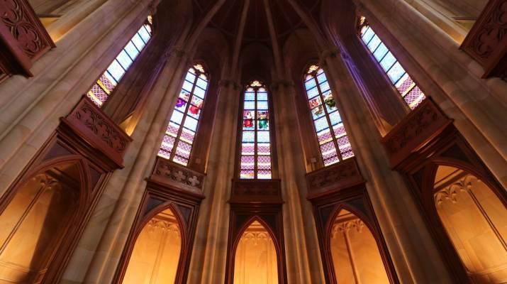 Der Chor in der Friedrichswerderschen Kirche