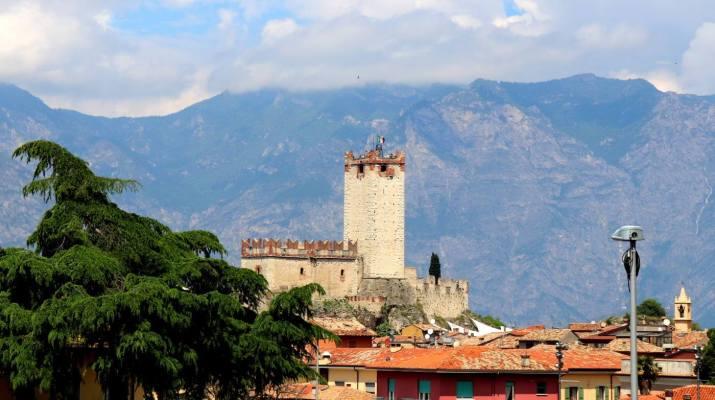 Die Burg der Scaliger in Malcesine