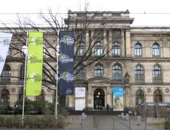 Das Naturkundemuseum an der Invalidenstraße in Mitte