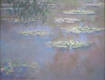Claude Monet, Seerosen, 1903, Öl auf Leinwand, The Dayton Art Institute, Ohio