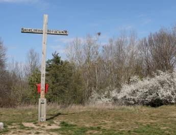 Gipfelkreuz auf dem Hagelberg