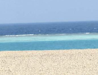 Lagune am Saumriff des Roten Meeres