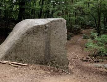 Der große Markgrafenstein war ursprünglich doppelt so groß
