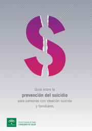 Guía para la prevención del suicidio del Servicio Andaluz de Salud