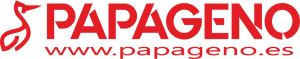 """Logotipo de la Asociación de Profesionales en Prevención y Postvención de Conductas Suicidas """"Papageno"""""""