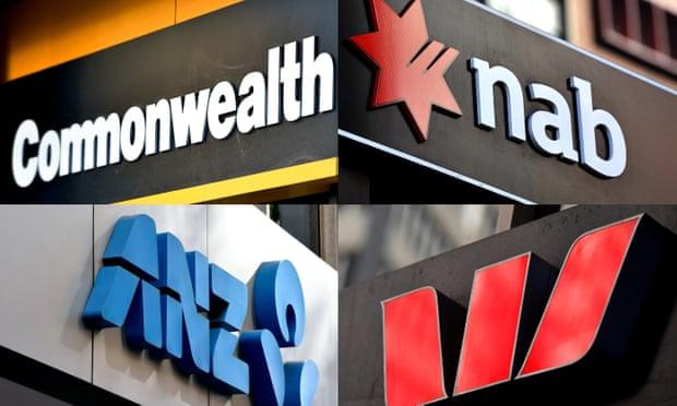 オーストラリア4大銀行CommonWealth, NAB, ANZ, Westpack