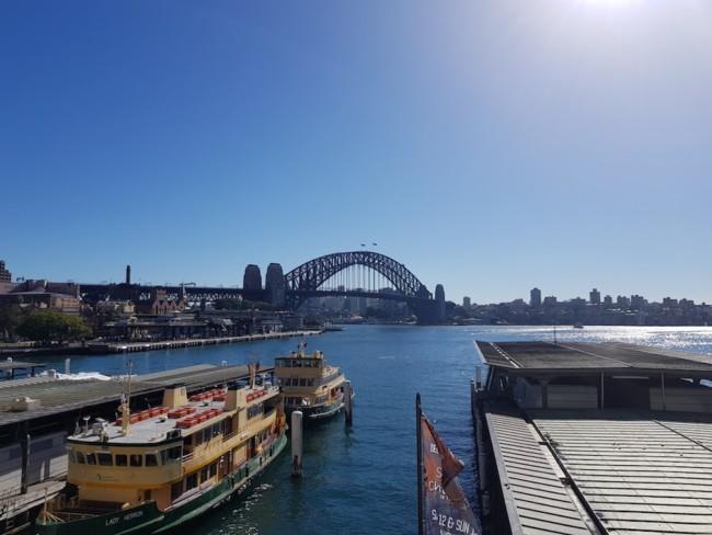 シドニーのサーキュラーキー