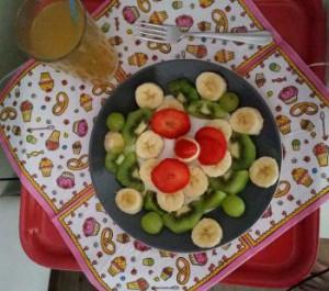Fruit kraamverzorgster