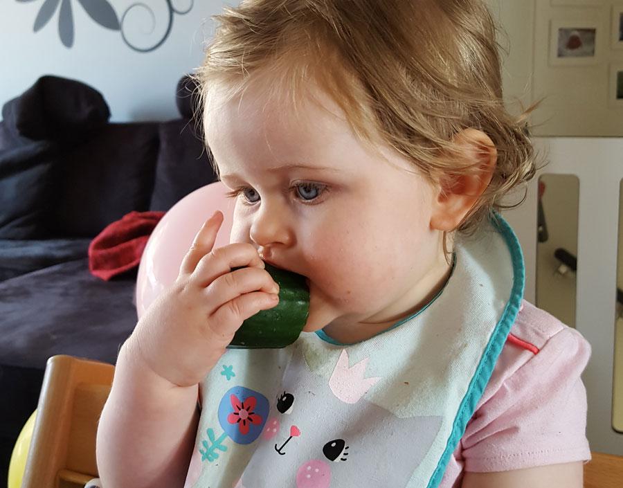 Komkommer-tussendoortje