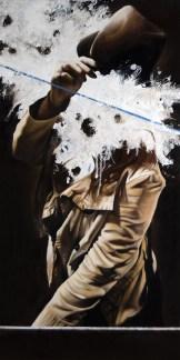 'Atlas XV', Oil on canvas, 100cm.X50cm., 2012