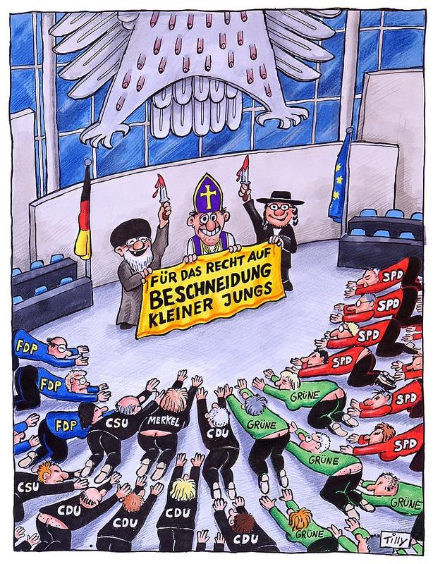 Beschneidungs-Debatte im Bundestag