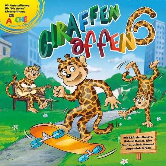 Giraffenaffen 6 CD-Cover