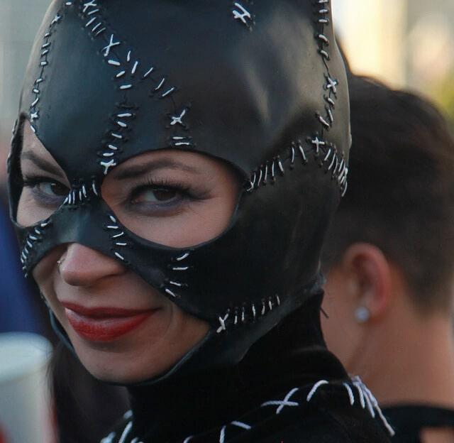 BDSM-Maske: Lust in der Öffentlichkeit