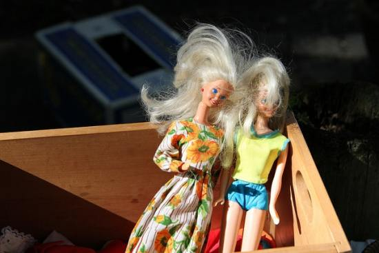 Auch Barbies sind: Not Heidis Girl