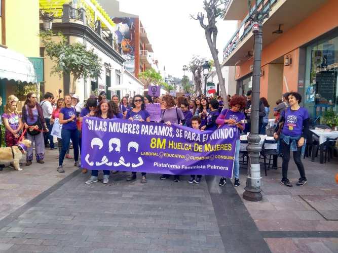 feministas dia de mujeres canarias6
