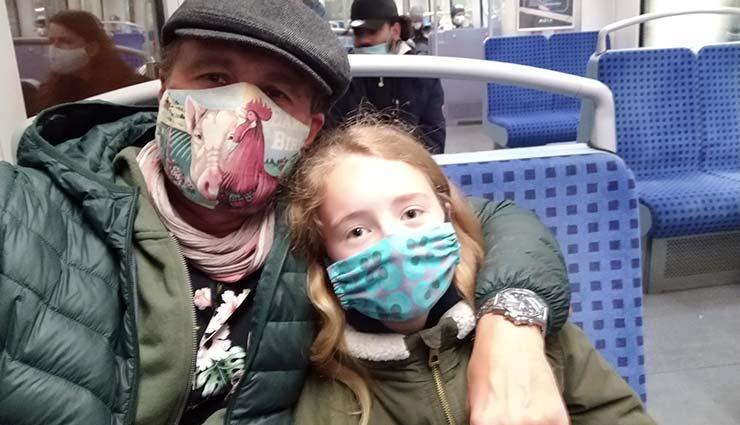 Vater und Tochter und der Internationaler Vatertag