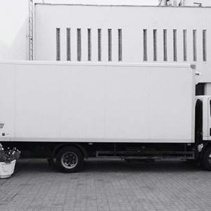 LKW Transport ungewöhnlicher Gegenstände